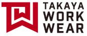 TAKAYA WORK WEARロゴ